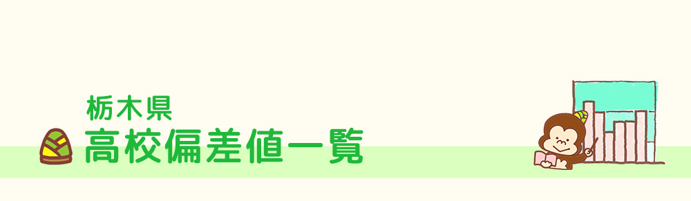 栃木県高校偏差値一覧
